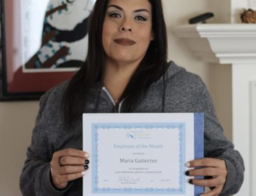 Congratulations to our April 2018 Caregiver of the Month